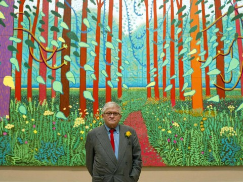 Venezia. David Hockney a Cà Pesaro