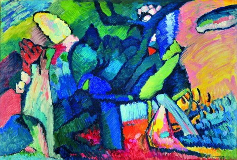 Il Cavaliere errante di Kandinskij tra apocalissi e sciamanesimo